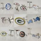 NFL Fans Cufflinks American & Football Team Bronze Jewelry Team Mens Gift Hot on eBay