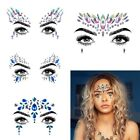 Внешний вид - Body Adhesive Glitter Stickers Tattoo Face Gems Rhinestone Jewels Party Festival