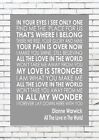 ALL+THE+LOVE+IN+THE+WORLD+-+DIONNE+WARWICK+Typography+Words+Song+Lyric+Lyrics+