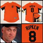 Men's CAL RIPKEN JR. Baltimore Orioles ORANGE Cooperstown Coll. Throwback Jersey on Ebay
