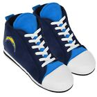 Los Angeles Chargers High Top Sneaker SLIPPERS New - FREE U.S.A. SHIPPING $23.39 USD on eBay