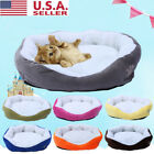 USA Plush Vintage Pet Bed Cushion Dog Cat Warm Mat Soft Pad Nest For Crate House