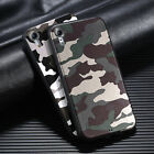 Army Camo Camouflage Pattern Rubber Case Cover For iPhone 6 7 8 Plus X XR XS Max