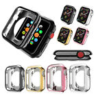 Bumper Frame Electroplating TPU Protective Case Cover For Apple Watch Series 4