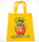 Rat Fink Big Daddy Tote 14 Colors Single-Sided Ed Roth Linen Eco Reusable Bags