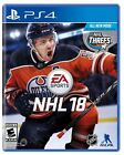 PS4 NHL 18 National Hockey League NEW Unsealed Never Played REGION FREE USA 2018 $22.0 USD on eBay