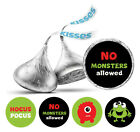 Darling Souvenir KissesCandy Labels No Monsters Allowed Party Stickers DS KS75