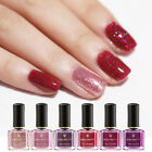 BORN PRETTY 6ml Red Sequins Nail Polish Peel Off Odorless Nail Art Varnish Tips