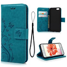 iPhone 6 Case, 6S Wallet 4.7 Inch (NOT for Plus), MOLLYCOOCLE Blue PU Leather Pu