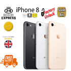 Brand New iPhone 8 Unlocked Factory Sealed Apple Four Colours Black Gold Silver