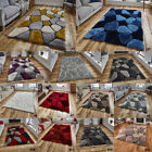 NEW SOFT PEBBLE DESIGN NOBLE HOUSE 3D TEXTURED LARGE THICK ACRYLIC RUGS BY THINK