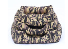 Pet Puppy Camouflage Soft Sofa Nest Dog Cat Indoor Warm Sleeping Bed Side Nest