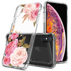 Floral Clear iPhone XS Max Case for Women/Girls,GREATRULY Pretty Phone XS 6.5 In