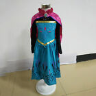 Kids Girls Costume Princess Fairytale Dress Up Belle Snow White Frozen Anna Elsa
