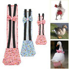 2PCS Pet Goose Duck Chicken Poultry Cloth Diaper Adjustable Easy to Use 4 Size