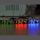 Mini Digital Led Electronic Time Clock Hot Control 4-digit DIY Kit For Car 12V