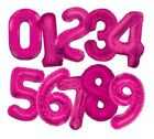 34* Giant NUMBER Foil BALLOONS Large Birthday Party Wedding Helium Air - Unique