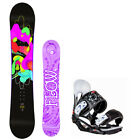 2019 FLOW Pixi 151cm Women's Snowboard+Head Women's Bindings NEW 4 YR WARRANTY