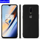New For OnePlus 6T 6 Luxury Shockproof Rubber+PC Back Case Cover+Tempered Film