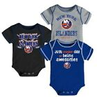 NHL New York Islanders 3 Pack Creeper Bodysuit One Piece - Choose Size $17.99 USD on eBay