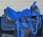 Cute Western Horse Saddle Pleasure Trail Barrel Tack Set Free Pad 14 15 16