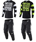 NEW 2019 TROY LEE DESIGNS GP RACESHOP MOTOCROSS GEAR COMBO ALL COLORS ALL SIZES