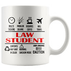 LAW STUDENT * Unique Gifts For Law School Students * White Coffee Mug