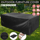 Waterproof Garden Patio Furniture Cover Covers For Rattan Table Cube Outdoor  Bk