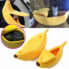 Warm Pets Dog Cat Bed Nest Banana Shape Warm Soft Kennel Home Bed Litter