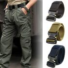 Внешний вид - Adjustable Men Military Belt Buckle Combat Waistband Tactical Rescue Tool Rigger