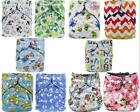 All-In-Ones Cloth Diapers Reusable Nappy Pocket Nappy Baby Newborn + 1 Insert