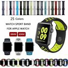 Kyпить Silicone Sport Watch Band Strap Bracelet For Apple Watch Series 4 3 2 1 40/44mm на еВаy.соm