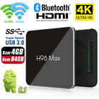 Newest S905X2 H96 Max 4G 64G Android 8.1 TV Box K18.0 Smart Network Media Player