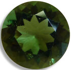 Natural Moldavite Green Round Faceted Loose Gemstones Fine Cut AA 3mm-10mm