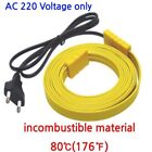 Electric Heating Cable incombustible Flexible WaterPipe Freeze Proof Heated Tape