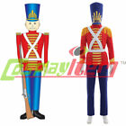 Toy Soldier Nutcracker Christmas Child adult Costume Cosplay Costume NN.06