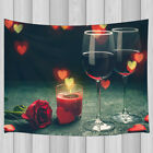 Romantic Candlelight Dinner Decor Bedroom Living Room Dorm Wall Hanging Tapestry