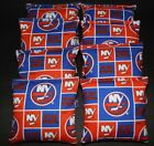 NEW YORK ISLANDERS CORNHOLE BEAN BAGS 8 ACA REGULATION NHL FAN GIFTS !! $35.99 USD on eBay