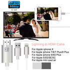 For Apple iPhone XS Max XR X 8 7 Lightning to HDMI Cable HDTV TV Digital Adapter
