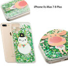Xmas Ultra Slim Silicone Soft Rubber Case Cover For Apple iPhone Xs Max 7 8 Plus