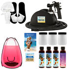 Belloccio Master Sunless Spray Tanning System, 4 DHA Tan Solutions, Pink Tent