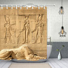 """Egypt Signs and Symbols Shower Curtains Bathroom Waterproof Fabric & Hooks 71"""""""