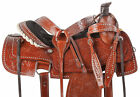 Ranch Roper Saddle 15 16 Work Roping Pleasure Trail Western Leather Horse Tack