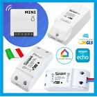 PRESA WIFI SPINA SONOFF INTERRUTTORE SWITCH AMAZON ALEXA GOOGLE ADATTATORE PRESE