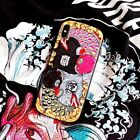 Chinese Style Creative Couple Lucky Koi Rubber Case For iPhoneXS MAX 6 7 8 Plus
