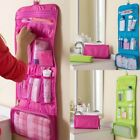 Folding Travel Toiletry Wall Hanging Wash Bag Make Up Cosmetic Case Stroage Bag