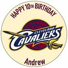 NBA Cleveland Cavaliers Basketball Team Personalised Message Edible Cake Topper on eBay