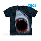 THE MOUNTAIN SHARK BITES DEEP SEA OCEAN DARK SCARY YOUTH KIDS TEE T SHIRT S-XL
