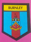 FOOTBALL BAB Products 1970s sticker trade card  SOCCER SHIELDS type 2 yellow box