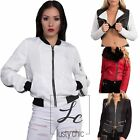 New Ladies Womens Sexy Mid Length Slim Fit Blazer Leather Jacket Size S M L XL